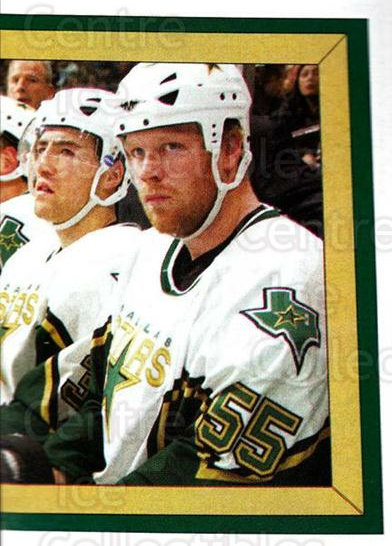 2005-06 Panini Stickers #255 John Erskine, Jaroslav Svoboda, Stephane Robidas, Dallas Stars<br/>7 In Stock - $1.00 each - <a href=https://centericecollectibles.foxycart.com/cart?name=2005-06%20Panini%20Stickers%20%23255%20John%20Erskine,%20J...&quantity_max=7&price=$1.00&code=166510 class=foxycart> Buy it now! </a>
