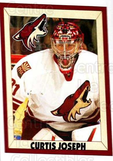 2005-06 Panini Stickers #322 Curtis Joseph<br/>4 In Stock - $1.00 each - <a href=https://centericecollectibles.foxycart.com/cart?name=2005-06%20Panini%20Stickers%20%23322%20Curtis%20Joseph...&quantity_max=4&price=$1.00&code=166583 class=foxycart> Buy it now! </a>