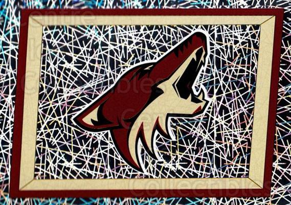 2005-06 Panini Stickers #325 Phoenix Coyotes<br/>20 In Stock - $1.00 each - <a href=https://centericecollectibles.foxycart.com/cart?name=2005-06%20Panini%20Stickers%20%23325%20Phoenix%20Coyotes...&quantity_max=20&price=$1.00&code=166586 class=foxycart> Buy it now! </a>