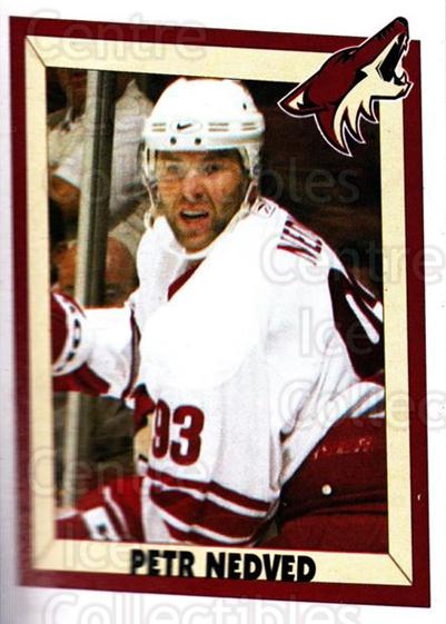 2005-06 Panini Stickers #329 Petr Nedved<br/>8 In Stock - $1.00 each - <a href=https://centericecollectibles.foxycart.com/cart?name=2005-06%20Panini%20Stickers%20%23329%20Petr%20Nedved...&quantity_max=8&price=$1.00&code=166590 class=foxycart> Buy it now! </a>