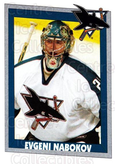 2005-06 Panini Stickers #343 Evgeni Nabokov<br/>3 In Stock - $1.00 each - <a href=https://centericecollectibles.foxycart.com/cart?name=2005-06%20Panini%20Stickers%20%23343%20Evgeni%20Nabokov...&quantity_max=3&price=$1.00&code=166606 class=foxycart> Buy it now! </a>