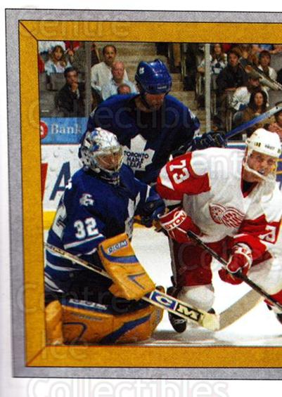 2005-06 Panini Stickers #383 Toronto Maple Leafs, Detroit Red Wings<br/>8 In Stock - $1.00 each - <a href=https://centericecollectibles.foxycart.com/cart?name=2005-06%20Panini%20Stickers%20%23383%20Toronto%20Maple%20L...&quantity_max=8&price=$1.00&code=166649 class=foxycart> Buy it now! </a>