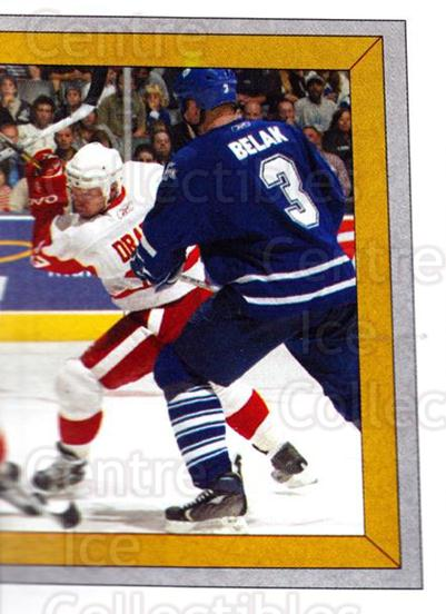 2005-06 Panini Stickers #384 Toronto Maple Leafs, Detroit Red Wings<br/>5 In Stock - $1.00 each - <a href=https://centericecollectibles.foxycart.com/cart?name=2005-06%20Panini%20Stickers%20%23384%20Toronto%20Maple%20L...&quantity_max=5&price=$1.00&code=166650 class=foxycart> Buy it now! </a>