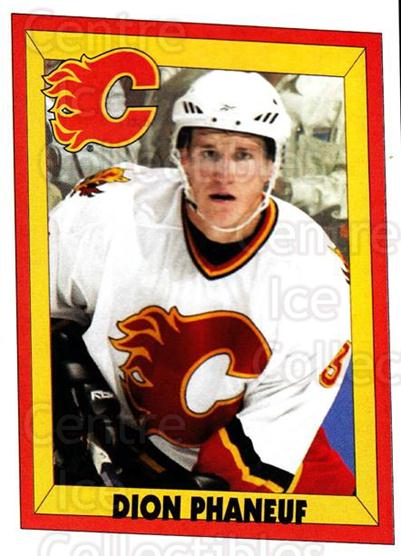 2005-06 Panini Stickers #4 Dion Phaneuf<br/>6 In Stock - $2.00 each - <a href=https://centericecollectibles.foxycart.com/cart?name=2005-06%20Panini%20Stickers%20%234%20Dion%20Phaneuf...&price=$2.00&code=166658 class=foxycart> Buy it now! </a>