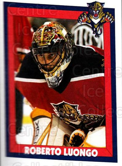 2005-06 Panini Stickers #55 Roberto Luongo<br/>6 In Stock - $2.00 each - <a href=https://centericecollectibles.foxycart.com/cart?name=2005-06%20Panini%20Stickers%20%2355%20Roberto%20Luongo...&quantity_max=6&price=$2.00&code=166675 class=foxycart> Buy it now! </a>