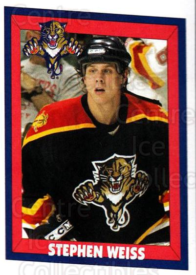 2005-06 Panini Stickers #64 Stephen Weiss<br/>5 In Stock - $1.00 each - <a href=https://centericecollectibles.foxycart.com/cart?name=2005-06%20Panini%20Stickers%20%2364%20Stephen%20Weiss...&quantity_max=5&price=$1.00&code=166685 class=foxycart> Buy it now! </a>