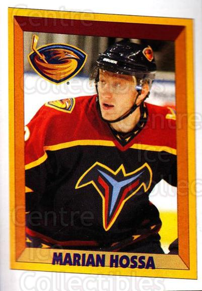 2005-06 Panini Stickers #8 Marian Hossa<br/>10 In Stock - $1.00 each - <a href=https://centericecollectibles.foxycart.com/cart?name=2005-06%20Panini%20Stickers%20%238%20Marian%20Hossa...&quantity_max=10&price=$1.00&code=166701 class=foxycart> Buy it now! </a>