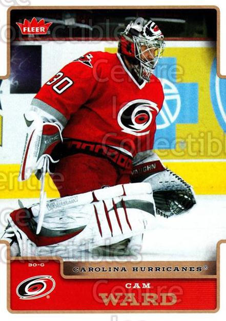 2006-07 Fleer #37 Cam Ward<br/>5 In Stock - $1.00 each - <a href=https://centericecollectibles.foxycart.com/cart?name=2006-07%20Fleer%20%2337%20Cam%20Ward...&price=$1.00&code=167069 class=foxycart> Buy it now! </a>