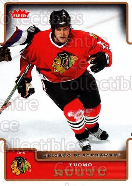 2006-07 Fleer #44 Tuomo Ruutu<br/>6 In Stock - $1.00 each - <a href=https://centericecollectibles.foxycart.com/cart?name=2006-07%20Fleer%20%2344%20Tuomo%20Ruutu...&quantity_max=6&price=$1.00&code=167077 class=foxycart> Buy it now! </a>
