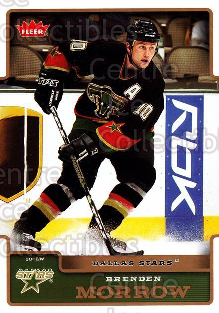 2006-07 Fleer #64 Brenden Morrow<br/>5 In Stock - $1.00 each - <a href=https://centericecollectibles.foxycart.com/cart?name=2006-07%20Fleer%20%2364%20Brenden%20Morrow...&quantity_max=5&price=$1.00&code=167097 class=foxycart> Buy it now! </a>
