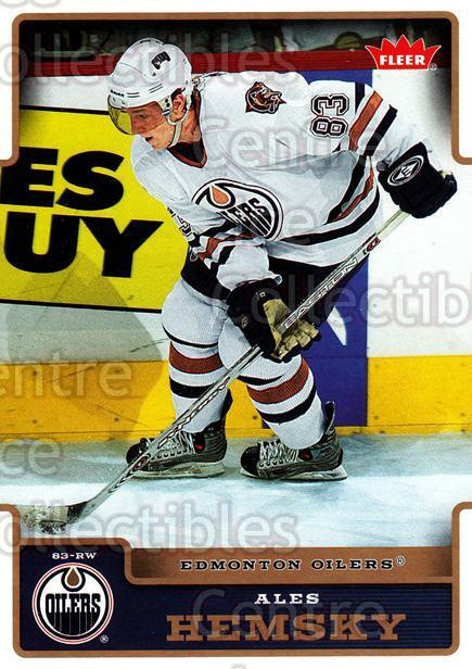 2006-07 Fleer #76 Ales Hemsky<br/>6 In Stock - $1.00 each - <a href=https://centericecollectibles.foxycart.com/cart?name=2006-07%20Fleer%20%2376%20Ales%20Hemsky...&quantity_max=6&price=$1.00&code=167103 class=foxycart> Buy it now! </a>
