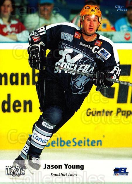 2006-07 German DEL #65 Jason Young<br/>3 In Stock - $2.00 each - <a href=https://centericecollectibles.foxycart.com/cart?name=2006-07%20German%20DEL%20%2365%20Jason%20Young...&quantity_max=3&price=$2.00&code=167283 class=foxycart> Buy it now! </a>