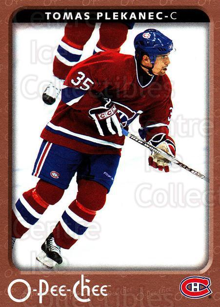 2006-07 O-Pee-Chee #268 Tomas Plekanec<br/>6 In Stock - $1.00 each - <a href=https://centericecollectibles.foxycart.com/cart?name=2006-07%20O-Pee-Chee%20%23268%20Tomas%20Plekanec...&quantity_max=6&price=$1.00&code=167388 class=foxycart> Buy it now! </a>