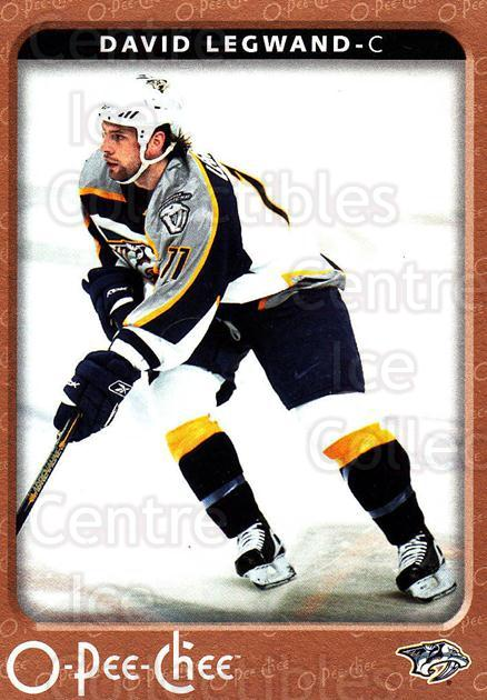 2006-07 O-Pee-Chee #282 David Legwand<br/>7 In Stock - $1.00 each - <a href=https://centericecollectibles.foxycart.com/cart?name=2006-07%20O-Pee-Chee%20%23282%20David%20Legwand...&quantity_max=7&price=$1.00&code=167404 class=foxycart> Buy it now! </a>