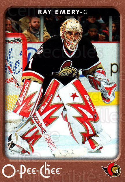 2006-07 O-Pee-Chee #343 Ray Emery<br/>7 In Stock - $1.00 each - <a href=https://centericecollectibles.foxycart.com/cart?name=2006-07%20O-Pee-Chee%20%23343%20Ray%20Emery...&quantity_max=7&price=$1.00&code=167472 class=foxycart> Buy it now! </a>