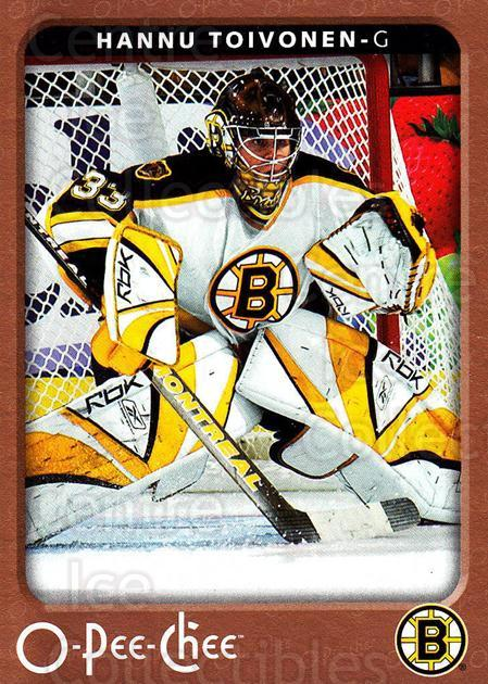 2006-07 O-Pee-Chee #35 Hannu Toivonen<br/>3 In Stock - $1.00 each - <a href=https://centericecollectibles.foxycart.com/cart?name=2006-07%20O-Pee-Chee%20%2335%20Hannu%20Toivonen...&quantity_max=3&price=$1.00&code=167479 class=foxycart> Buy it now! </a>