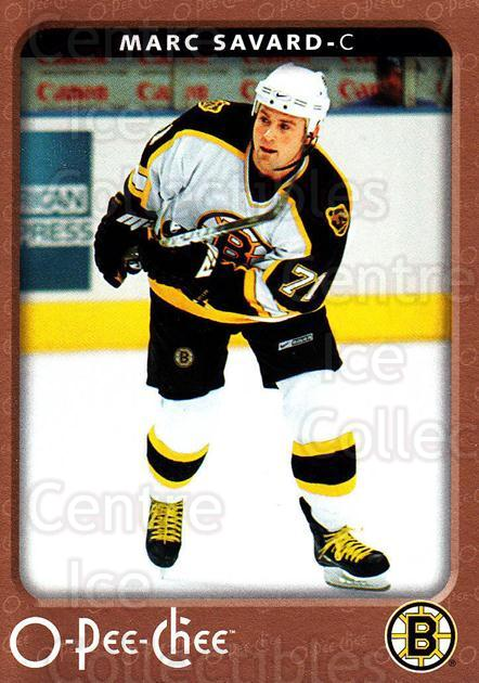 2006-07 O-Pee-Chee #38 Marc Savard<br/>7 In Stock - $1.00 each - <a href=https://centericecollectibles.foxycart.com/cart?name=2006-07%20O-Pee-Chee%20%2338%20Marc%20Savard...&quantity_max=7&price=$1.00&code=167512 class=foxycart> Buy it now! </a>