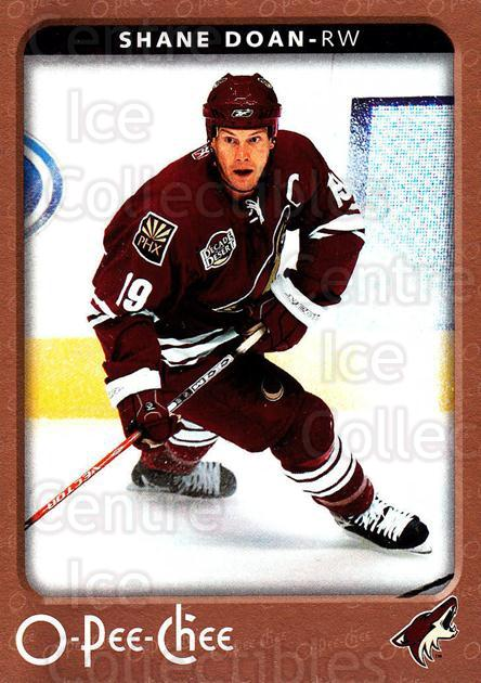 2006-07 O-Pee-Chee #389 Shane Doan<br/>7 In Stock - $1.00 each - <a href=https://centericecollectibles.foxycart.com/cart?name=2006-07%20O-Pee-Chee%20%23389%20Shane%20Doan...&quantity_max=7&price=$1.00&code=167522 class=foxycart> Buy it now! </a>