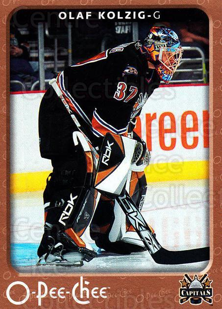 2006-07 O-Pee-Chee #487 Olaf Kolzig<br/>7 In Stock - $1.00 each - <a href=https://centericecollectibles.foxycart.com/cart?name=2006-07%20O-Pee-Chee%20%23487%20Olaf%20Kolzig...&quantity_max=7&price=$1.00&code=167627 class=foxycart> Buy it now! </a>