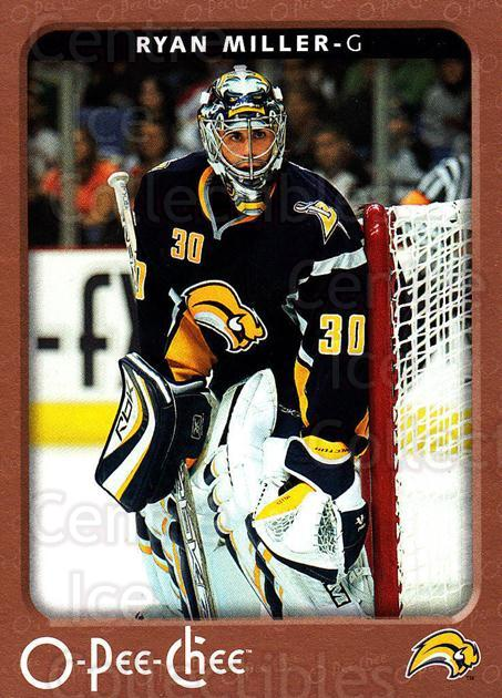 2006-07 O-Pee-Chee #60 Ryan Miller<br/>6 In Stock - $1.00 each - <a href=https://centericecollectibles.foxycart.com/cart?name=2006-07%20O-Pee-Chee%20%2360%20Ryan%20Miller...&quantity_max=6&price=$1.00&code=167652 class=foxycart> Buy it now! </a>
