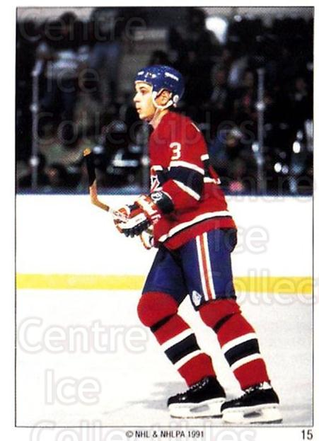 1991 Montreal Canadiens Panini Team Stickers #15 Sylvain Lefebvre<br/>12 In Stock - $3.00 each - <a href=https://centericecollectibles.foxycart.com/cart?name=1991%20Montreal%20Canadiens%20Panini%20Team%20Stickers%20%2315%20Sylvain%20Lefebvr...&quantity_max=12&price=$3.00&code=16769 class=foxycart> Buy it now! </a>