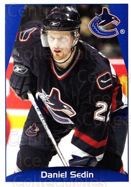 2006-07 Panini Stickers #356 Daniel Sedin<br/>2 In Stock - $1.00 each - <a href=https://centericecollectibles.foxycart.com/cart?name=2006-07%20Panini%20Stickers%20%23356%20Daniel%20Sedin...&quantity_max=2&price=$1.00&code=167712 class=foxycart> Buy it now! </a>