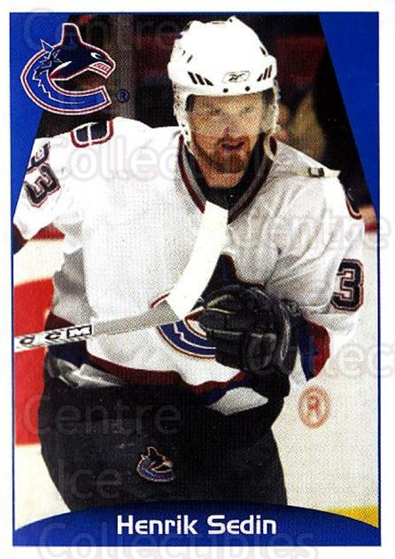 2006-07 Panini Stickers #357 Henrik Sedin<br/>1 In Stock - $1.00 each - <a href=https://centericecollectibles.foxycart.com/cart?name=2006-07%20Panini%20Stickers%20%23357%20Henrik%20Sedin...&quantity_max=1&price=$1.00&code=167713 class=foxycart> Buy it now! </a>