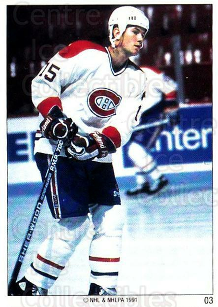 1991 Montreal Canadiens Panini Team Stickers #3 Andrew Cassels<br/>10 In Stock - $3.00 each - <a href=https://centericecollectibles.foxycart.com/cart?name=1991%20Montreal%20Canadiens%20Panini%20Team%20Stickers%20%233%20Andrew%20Cassels...&quantity_max=10&price=$3.00&code=16779 class=foxycart> Buy it now! </a>