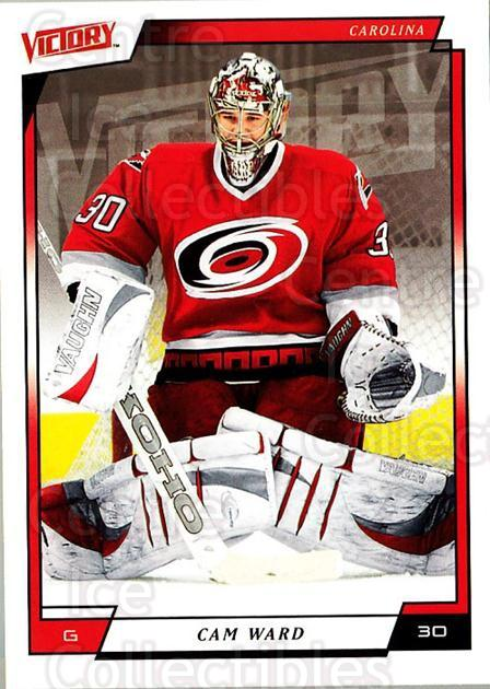 2006-07 UD Victory #34 Cam Ward<br/>3 In Stock - $1.00 each - <a href=https://centericecollectibles.foxycart.com/cart?name=2006-07%20UD%20Victory%20%2334%20Cam%20Ward...&quantity_max=3&price=$1.00&code=167976 class=foxycart> Buy it now! </a>