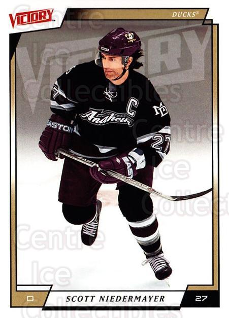 2006-07 UD Victory #5 Scott Niedermayer<br/>4 In Stock - $1.00 each - <a href=https://centericecollectibles.foxycart.com/cart?name=2006-07%20UD%20Victory%20%235%20Scott%20Niedermay...&quantity_max=4&price=$1.00&code=167993 class=foxycart> Buy it now! </a>