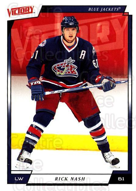 2006-07 UD Victory #54 Rick Nash<br/>4 In Stock - $1.00 each - <a href=https://centericecollectibles.foxycart.com/cart?name=2006-07%20UD%20Victory%20%2354%20Rick%20Nash...&quantity_max=4&price=$1.00&code=167998 class=foxycart> Buy it now! </a>