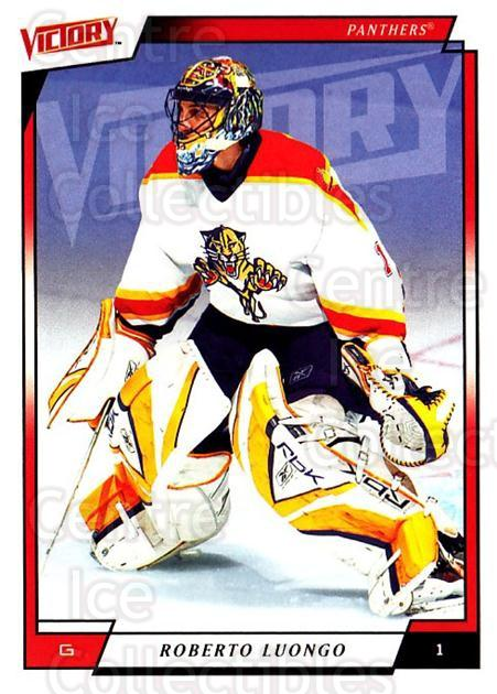 2006-07 UD Victory #83 Roberto Luongo<br/>3 In Stock - $2.00 each - <a href=https://centericecollectibles.foxycart.com/cart?name=2006-07%20UD%20Victory%20%2383%20Roberto%20Luongo...&quantity_max=3&price=$2.00&code=168030 class=foxycart> Buy it now! </a>