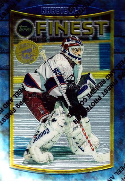 1994-95 Finest Super Team Winner Redeemed #27 Nikolai Khabibulin<br/>7 In Stock - $2.00 each - <a href=https://centericecollectibles.foxycart.com/cart?name=1994-95%20Finest%20Super%20Team%20Winner%20Redeemed%20%2327%20Nikolai%20Khabibu...&quantity_max=7&price=$2.00&code=1680 class=foxycart> Buy it now! </a>