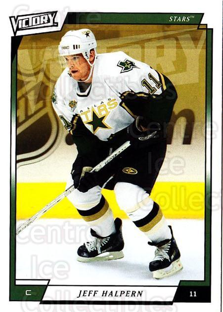 2006-07 UD Victory #246 Jeff Halpern<br/>3 In Stock - $1.00 each - <a href=https://centericecollectibles.foxycart.com/cart?name=2006-07%20UD%20Victory%20%23246%20Jeff%20Halpern...&quantity_max=3&price=$1.00&code=168126 class=foxycart> Buy it now! </a>