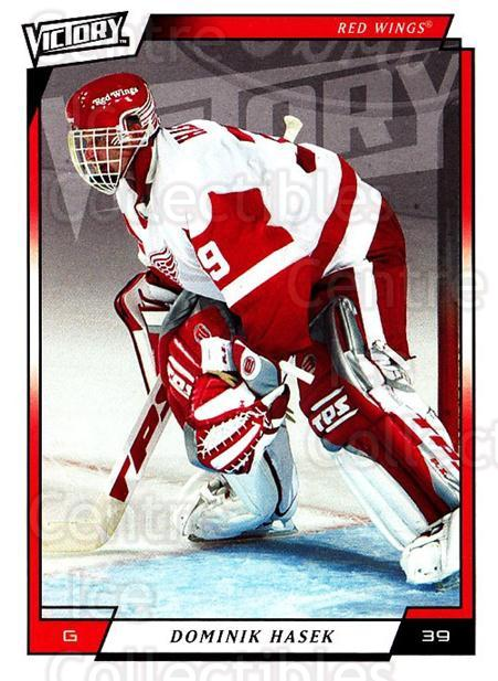 2006-07 UD Victory #247 Dominik Hasek<br/>2 In Stock - $2.00 each - <a href=https://centericecollectibles.foxycart.com/cart?name=2006-07%20UD%20Victory%20%23247%20Dominik%20Hasek...&quantity_max=2&price=$2.00&code=168127 class=foxycart> Buy it now! </a>