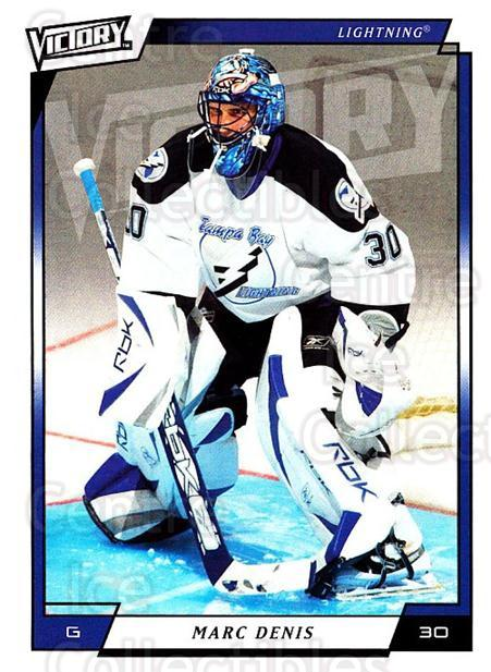 2006-07 UD Victory #275 Marc Denis<br/>4 In Stock - $1.00 each - <a href=https://centericecollectibles.foxycart.com/cart?name=2006-07%20UD%20Victory%20%23275%20Marc%20Denis...&quantity_max=4&price=$1.00&code=168155 class=foxycart> Buy it now! </a>