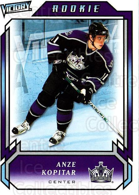 2006-07 UD Victory #285 Anze Kopitar<br/>1 In Stock - $5.00 each - <a href=https://centericecollectibles.foxycart.com/cart?name=2006-07%20UD%20Victory%20%23285%20Anze%20Kopitar...&quantity_max=1&price=$5.00&code=168165 class=foxycart> Buy it now! </a>