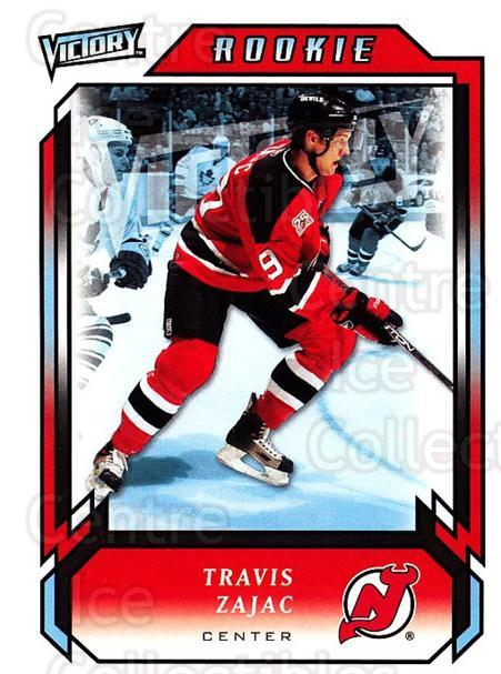 2006-07 UD Victory #287 Travis Zajac<br/>6 In Stock - $2.00 each - <a href=https://centericecollectibles.foxycart.com/cart?name=2006-07%20UD%20Victory%20%23287%20Travis%20Zajac...&quantity_max=6&price=$2.00&code=168167 class=foxycart> Buy it now! </a>