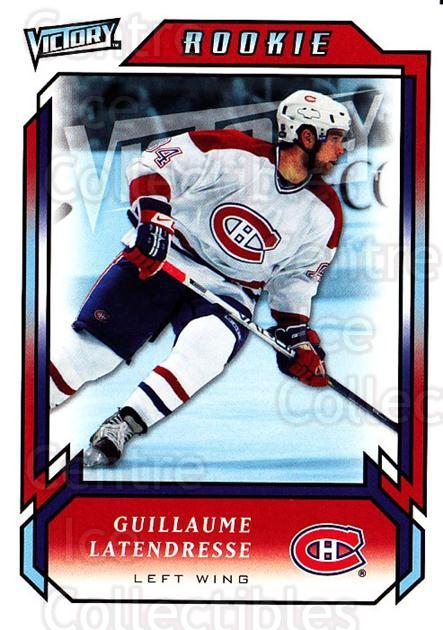 2006-07 UD Victory #290 Guillaume Latendresse<br/>5 In Stock - $2.00 each - <a href=https://centericecollectibles.foxycart.com/cart?name=2006-07%20UD%20Victory%20%23290%20Guillaume%20Laten...&quantity_max=5&price=$2.00&code=168170 class=foxycart> Buy it now! </a>