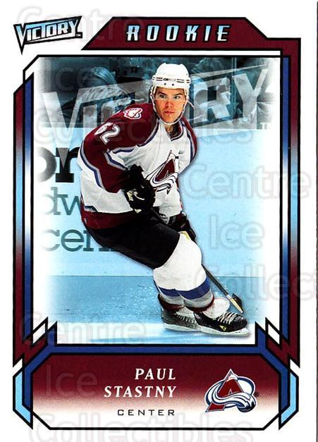 2006-07 UD Victory #294 Paul Stastny<br/>2 In Stock - $5.00 each - <a href=https://centericecollectibles.foxycart.com/cart?name=2006-07%20UD%20Victory%20%23294%20Paul%20Stastny...&quantity_max=2&price=$5.00&code=168174 class=foxycart> Buy it now! </a>