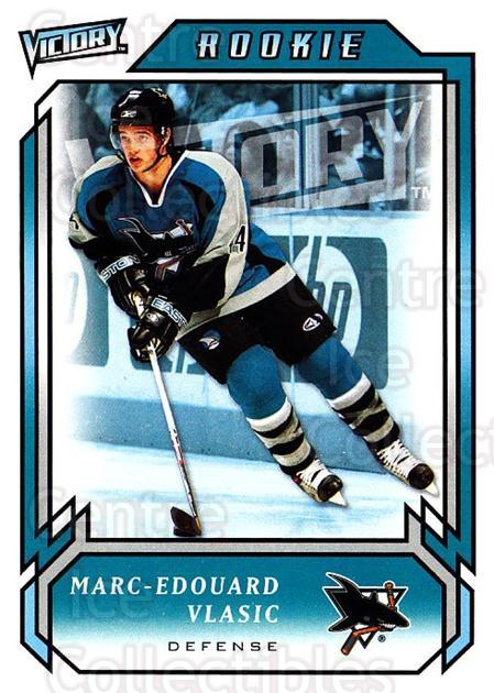 2006-07 UD Victory #297 Marc-Edouard Vlasic<br/>4 In Stock - $2.00 each - <a href=https://centericecollectibles.foxycart.com/cart?name=2006-07%20UD%20Victory%20%23297%20Marc-Edouard%20Vl...&quantity_max=4&price=$2.00&code=168177 class=foxycart> Buy it now! </a>