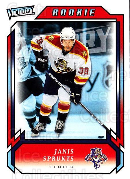 2006-07 UD Victory #309 Janis Sprukts<br/>1 In Stock - $2.00 each - <a href=https://centericecollectibles.foxycart.com/cart?name=2006-07%20UD%20Victory%20%23309%20Janis%20Sprukts...&quantity_max=1&price=$2.00&code=168188 class=foxycart> Buy it now! </a>