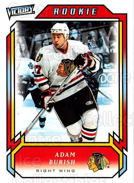 2006-07 UD Victory #317 Adam Burish<br/>4 In Stock - $2.00 each - <a href=https://centericecollectibles.foxycart.com/cart?name=2006-07%20UD%20Victory%20%23317%20Adam%20Burish...&quantity_max=4&price=$2.00&code=168196 class=foxycart> Buy it now! </a>