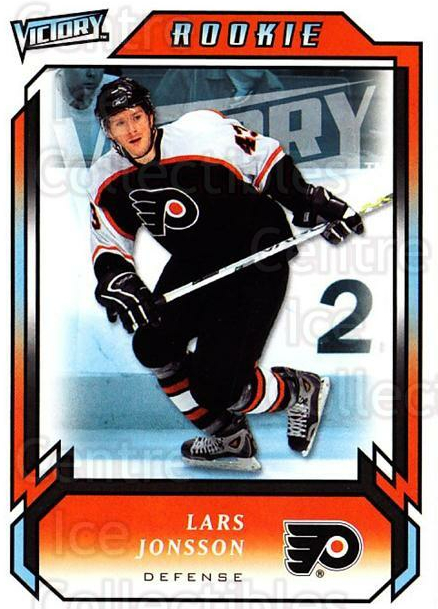 2006-07 UD Victory #323 Lars Jonsson<br/>3 In Stock - $2.00 each - <a href=https://centericecollectibles.foxycart.com/cart?name=2006-07%20UD%20Victory%20%23323%20Lars%20Jonsson...&quantity_max=3&price=$2.00&code=168202 class=foxycart> Buy it now! </a>
