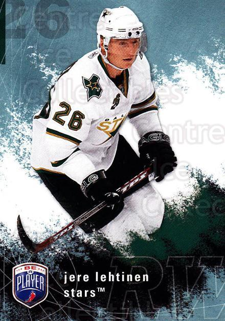 2007-08 Be A Player #66 Jere Lehtinen<br/>4 In Stock - $1.00 each - <a href=https://centericecollectibles.foxycart.com/cart?name=2007-08%20Be%20A%20Player%20%2366%20Jere%20Lehtinen...&quantity_max=4&price=$1.00&code=168217 class=foxycart> Buy it now! </a>