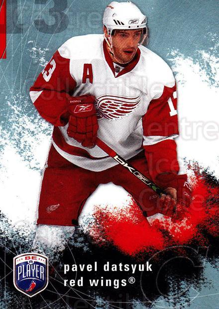 2007-08 Be A Player #69 Pavel Datsyuk<br/>3 In Stock - $2.00 each - <a href=https://centericecollectibles.foxycart.com/cart?name=2007-08%20Be%20A%20Player%20%2369%20Pavel%20Datsyuk...&quantity_max=3&price=$2.00&code=168219 class=foxycart> Buy it now! </a>