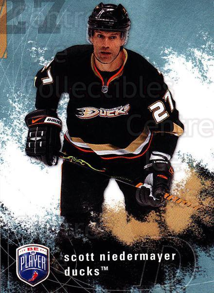 2007-08 Be A Player #7 Scott Niedermayer<br/>4 In Stock - $1.00 each - <a href=https://centericecollectibles.foxycart.com/cart?name=2007-08%20Be%20A%20Player%20%237%20Scott%20Niedermay...&quantity_max=4&price=$1.00&code=168220 class=foxycart> Buy it now! </a>