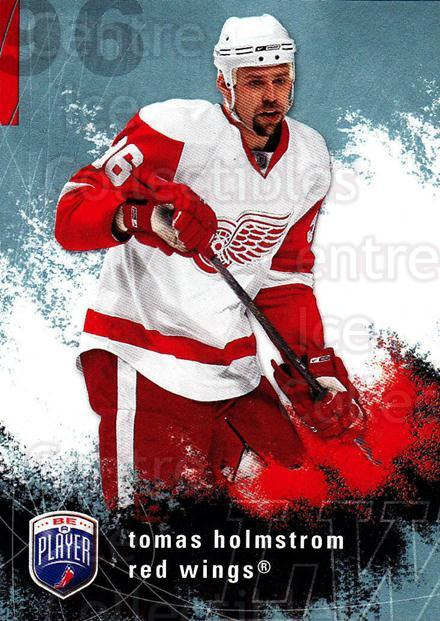 2007-08 Be A Player #73 Tomas Holmstrom<br/>3 In Stock - $1.00 each - <a href=https://centericecollectibles.foxycart.com/cart?name=2007-08%20Be%20A%20Player%20%2373%20Tomas%20Holmstrom...&quantity_max=3&price=$1.00&code=168224 class=foxycart> Buy it now! </a>
