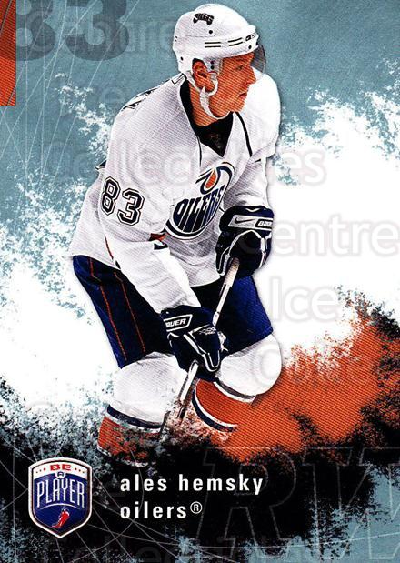 2007-08 Be A Player #76 Ales Hemsky<br/>4 In Stock - $1.00 each - <a href=https://centericecollectibles.foxycart.com/cart?name=2007-08%20Be%20A%20Player%20%2376%20Ales%20Hemsky...&quantity_max=4&price=$1.00&code=168227 class=foxycart> Buy it now! </a>
