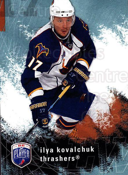2007-08 Be A Player #8 Ilya Kovalchuk<br/>3 In Stock - $1.00 each - <a href=https://centericecollectibles.foxycart.com/cart?name=2007-08%20Be%20A%20Player%20%238%20Ilya%20Kovalchuk...&quantity_max=3&price=$1.00&code=168231 class=foxycart> Buy it now! </a>
